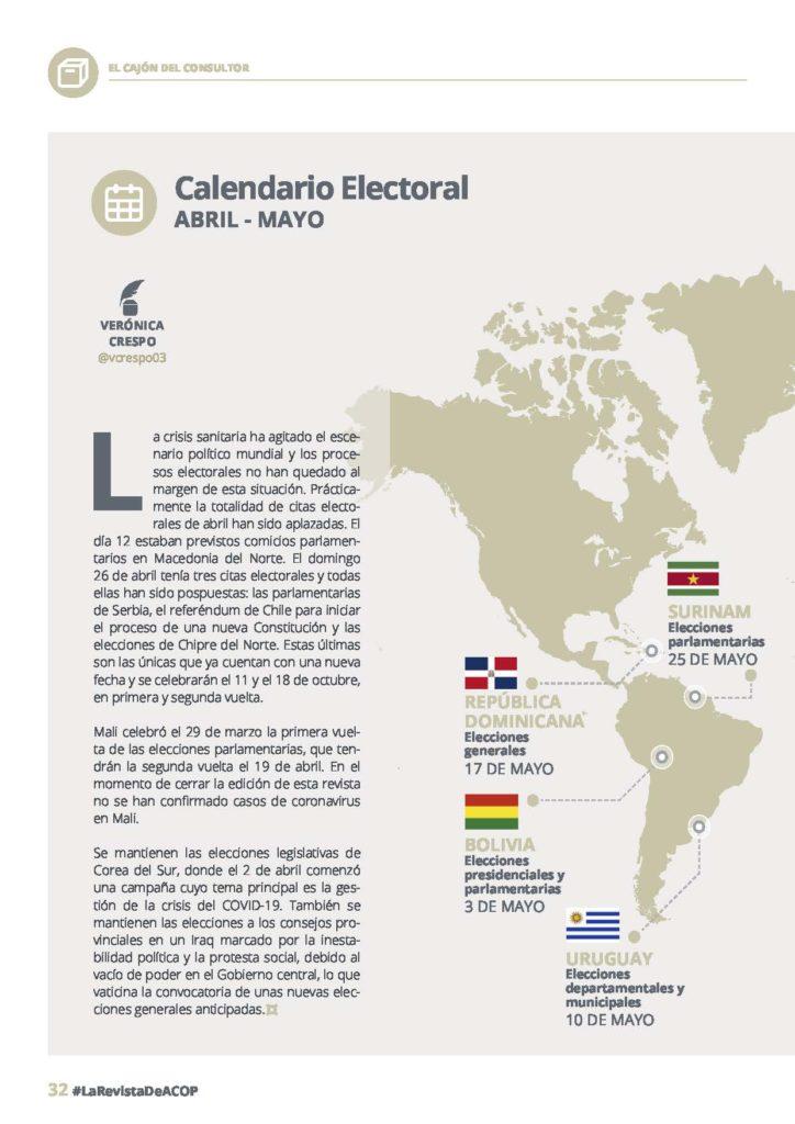 calendario electoral abril