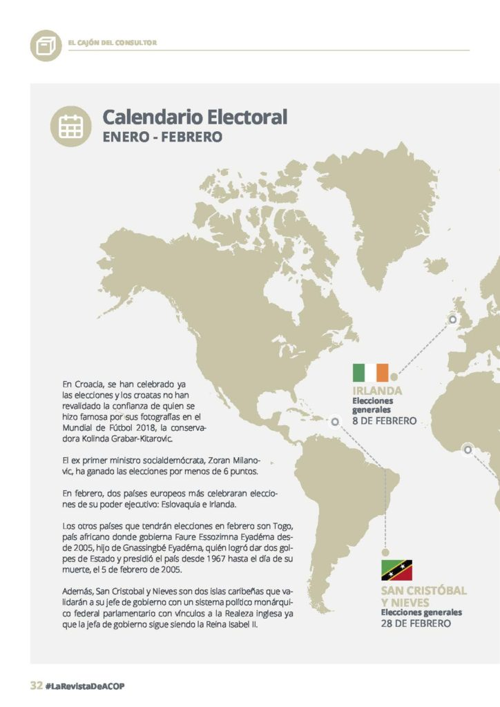 calendario electoral enero