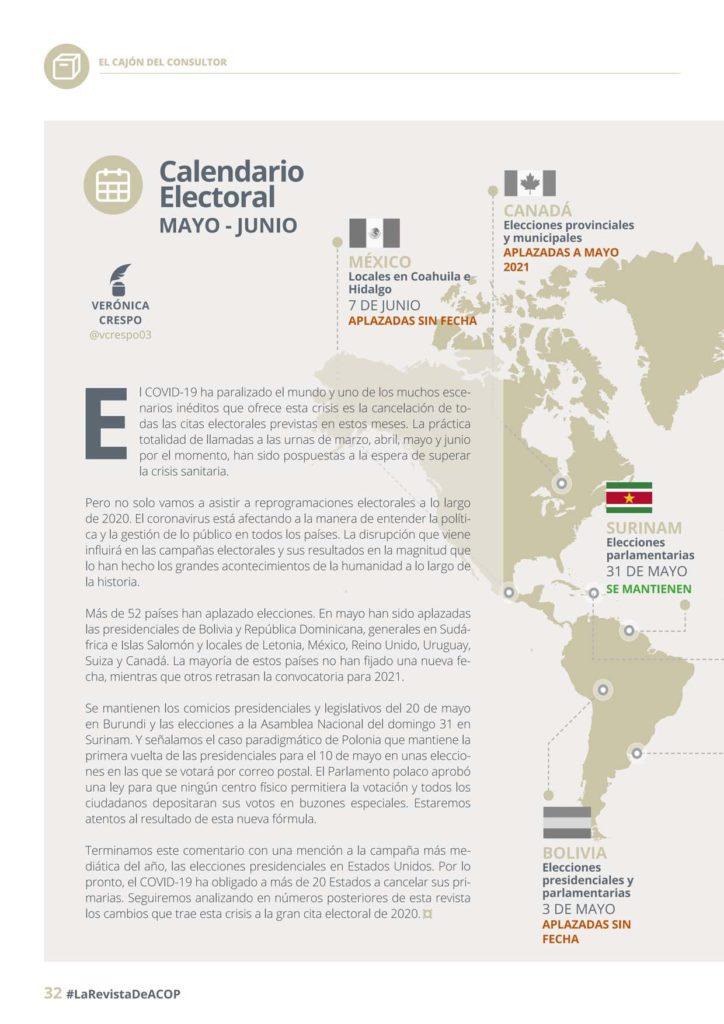 calendario electoral mayo