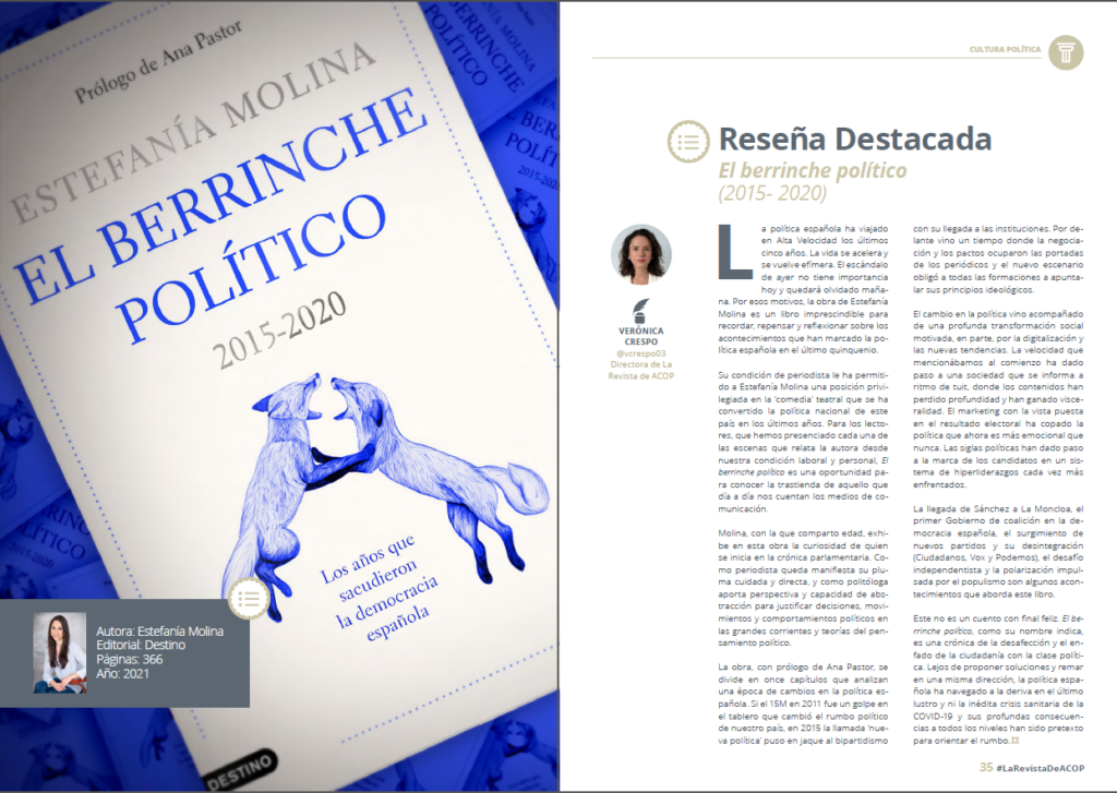 reseña berrinche político